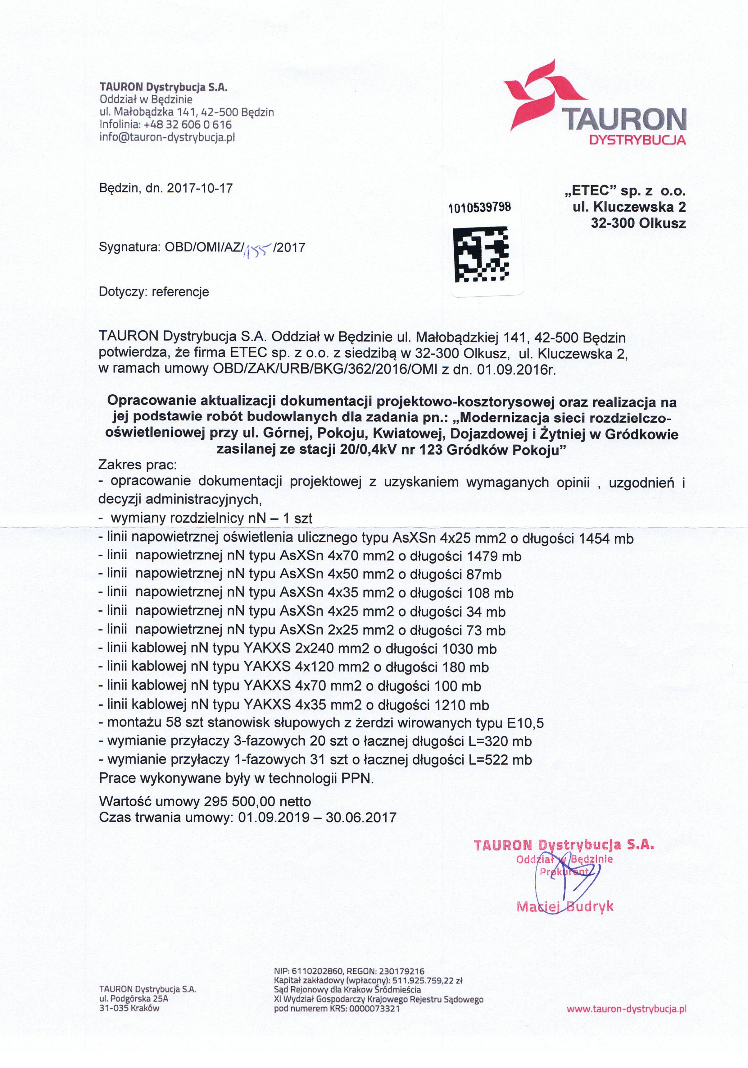 2017 Gródków